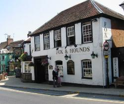 The Fox and Hounds Pub in the High Street