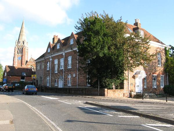 Queen's House and Lyndhurst Church